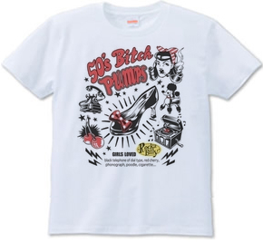 50's Bitchとパンプス_Tシャツ.jpg