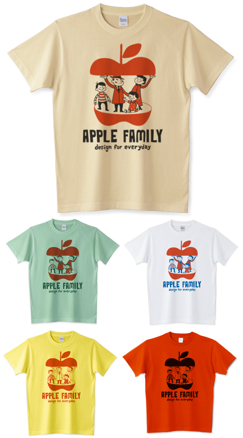 APPLE FAMILY_Tシャツ_りんご.jpg