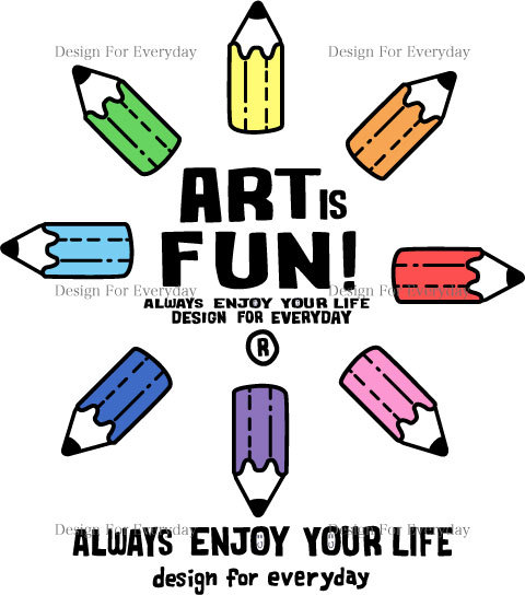 カラフル・ペンシル〜ART IS FUN!〜 グラフィック.jpg