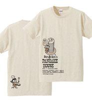 Boy & Girl's パンケーキ_ベージュ_Tシャツ.jpg