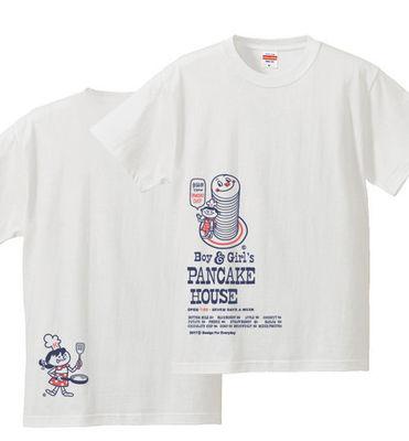Boy & Girl's パンケーキ_Tシャツ.jpg