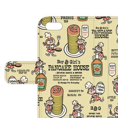 Boy & Girl'sパンケーキ ハウス手帳型ケース.jpg