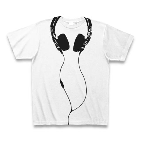 だまし絵 ヘッドフォン  全面プリントTシャツ  白.jpg