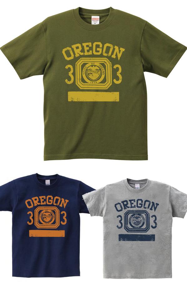 オレゴン 33-オールドスクール風_Tシャツ.png