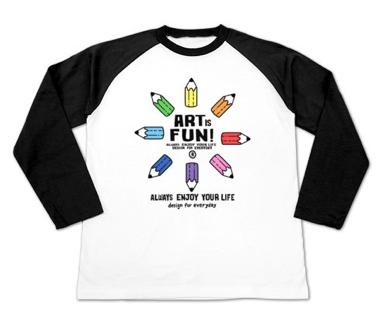 カラフル・ペンシル〜ART IS FUN!〜_ラグラン長袖.png