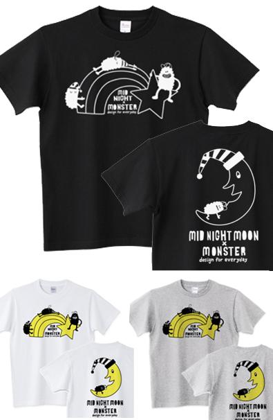 モンスター×ミッドナイト_半袖Tシャツ.jpg