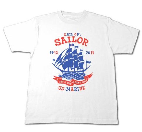 Sail On,Sailor★マリン_Tシャツ_ホワイト