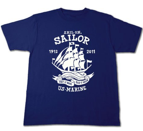 Sail On,Sailor★マリン_Tシャツ_ネイビー