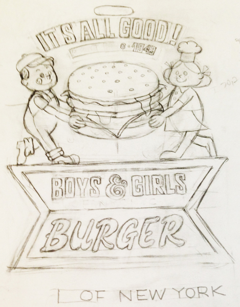 ハンバーガー&BOY&GIRL_ラフ.jpg