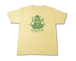Frog(カエルさん)〜be free〜 Tシャツ