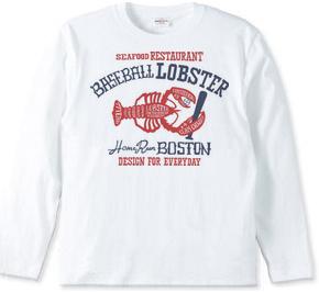 ボストン ベースボール ロブスター_長袖Tシャツ.jpg