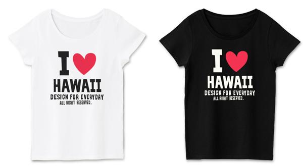 アロハ ハワイ SUN SET_Tシャツ_レディース_ホワイト_ブラック.png
