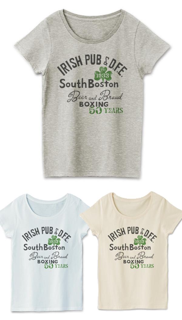 ボストン アイリッシュパブ_レディースTシャツ.png