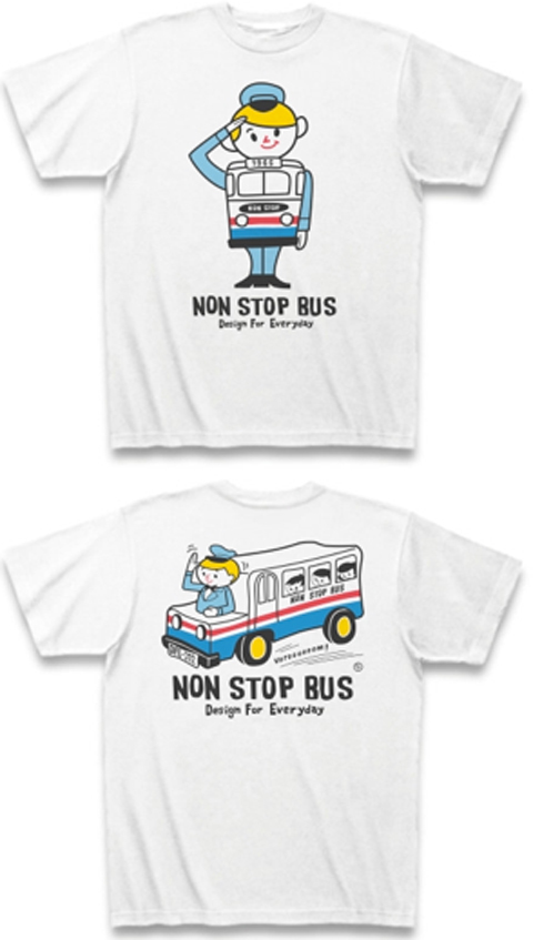 レトロバス&ドライバーボーイ_白Tシャツ.jpg