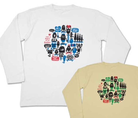 LOVE & HAPPINESS 〜 SK8・モンスター〜_ロンT_長袖Tシャツ.jpg
