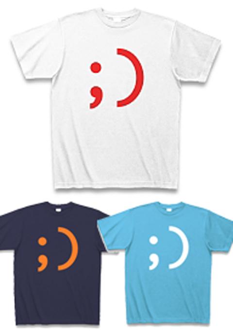 外国の顔文字_ウインクTシャツ.jpg