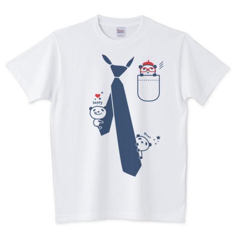 だまし絵 パンダ&ネクタイ_TTシャツ.jpg